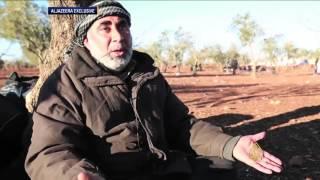 شاهد.. معاناة السوريين الفارين من الجحيم الروسي