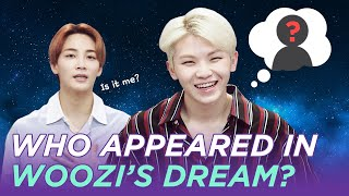 Who Appeared In Woozi's Dream?!?! | Seventeen In 10 Sec Eng Sub • Dingo Kdra