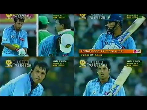 Robin Singh Cameo Innings vs Pakistan   1997