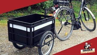 Fabrication remorque vélo V2