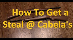 How to Get a Steal from Cabela's (or other big box stores) on Firearms & Ammo