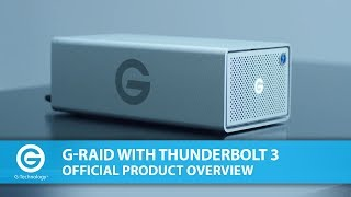 G-RAID with Thunderbolt 3 | Official Product Overview