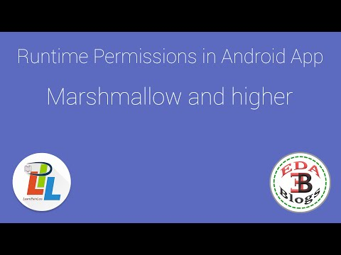 Runtime Permission in Android Marshmallow Example