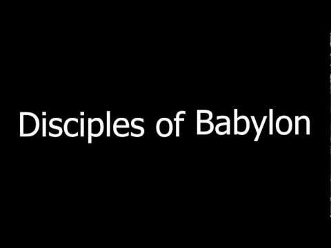 DragonForce - Disciples Of Babylon | Lyrics on screen | HD