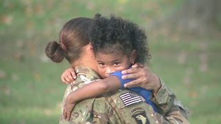 Welcome Home Soldier Surprise Homecoming Compilation 19