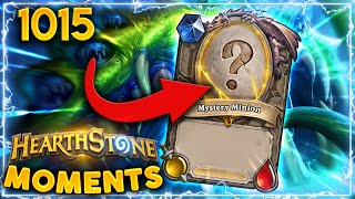 THE BEST CARD EVER PLAYED!!! | Hearthstone Daily Moments Ep.1015