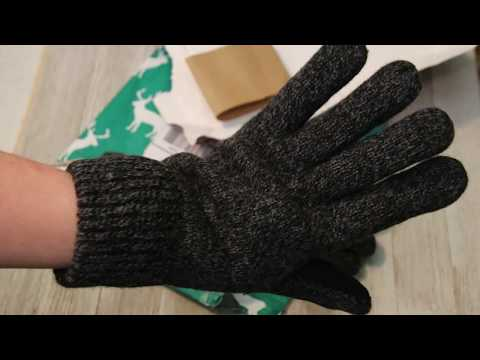 Öjbro Swedish 100% Wool Touchscreen Gloves Unboxing & Review