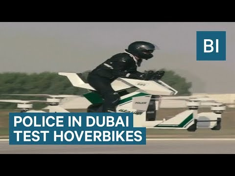 Christie James - Dubai Police Train On Real Hoverbikes