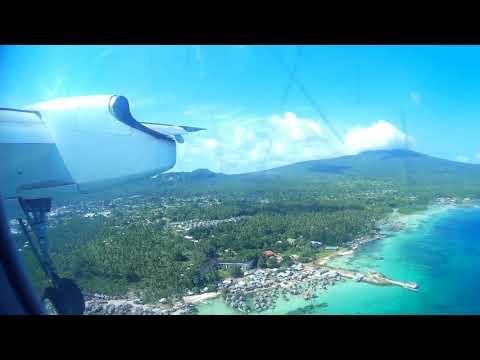 Philippine Airlines Bombardier Dash 8 Q400 Landing Jolo, Sulu