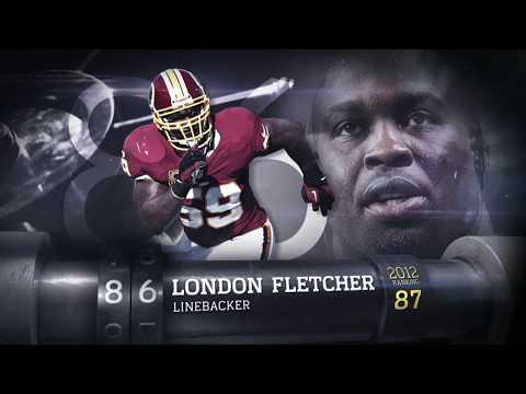 #86 London Fletcher (LB, Redskins) | Top 100 Players of 2013 | NFL