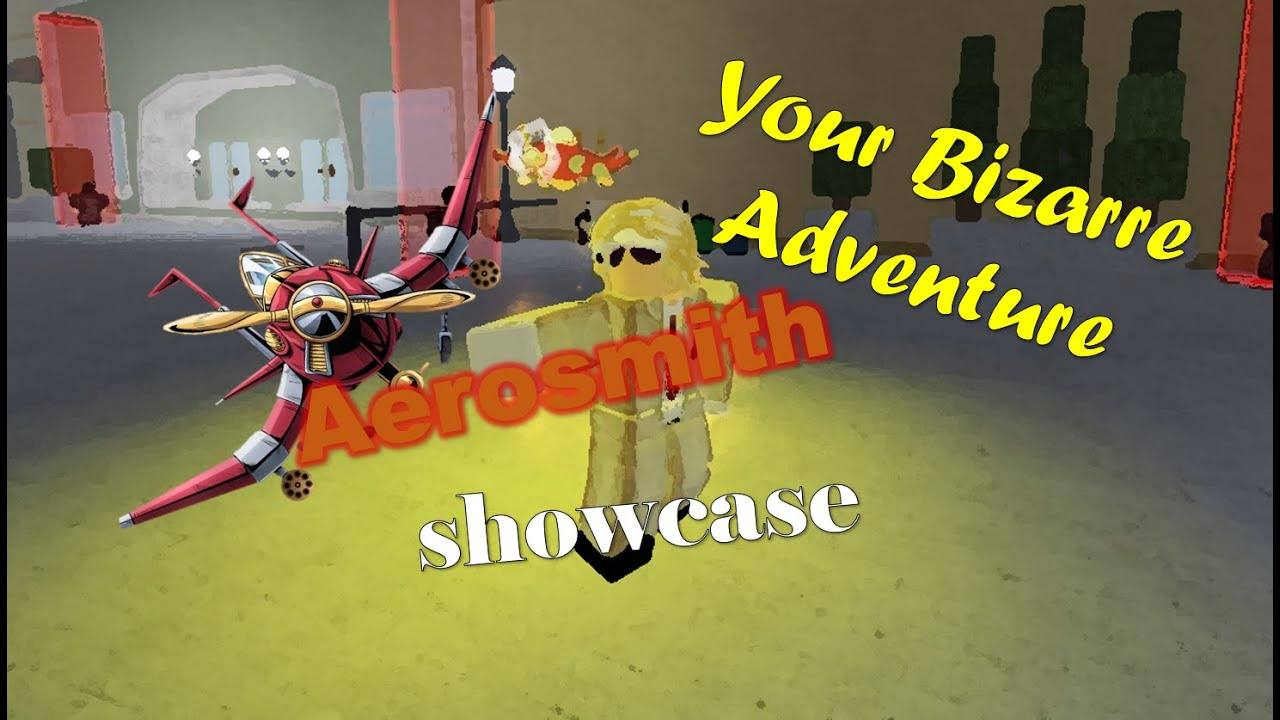 Your Bizarre Adventure Aerosmith Showcase Skill Tree