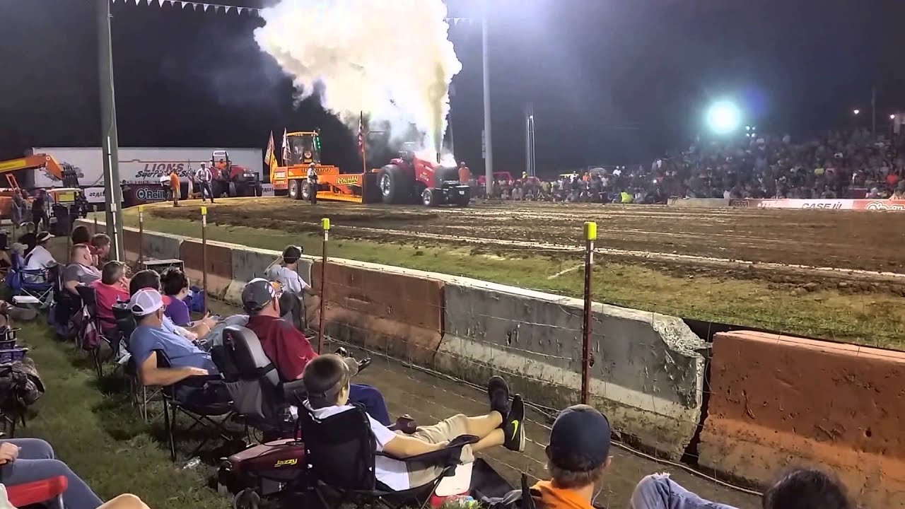 Crossville truck and tractor pull