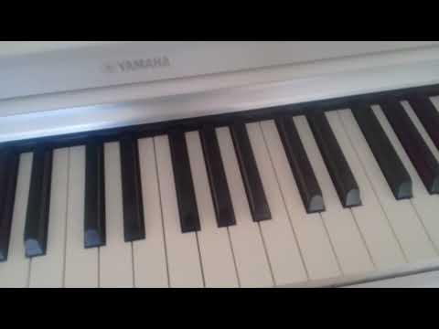 Как играть на пианино песню Ов сирун сирун (обучение)