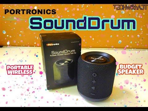 Portronics Sound Drum (POR 871) Unboxing & Review || Bass & Sound Test