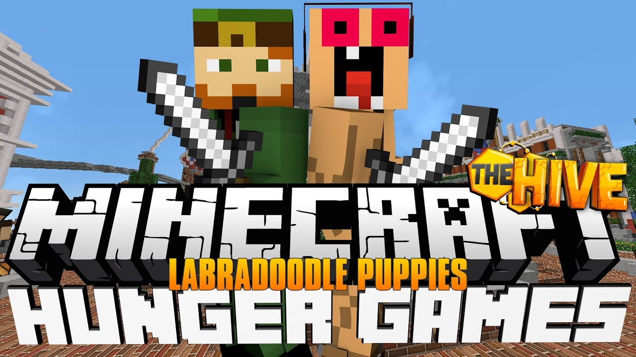 Minecraft - Hunger Games 'Labradoodle Puppies'