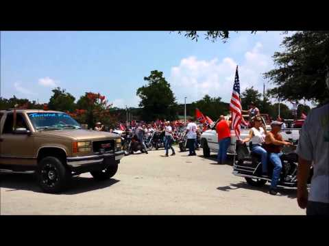 Southern Pride Ride Supporting The Confederate Flag