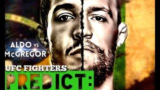 Over 30+ UFC Fighters Predict Jose Aldo vs. Conor McGregor at UFC 194