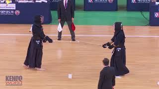 #37 Men's Team Preliminary Heats:  Latvia vs. Japan - 17th World Kendo Championships (2018)