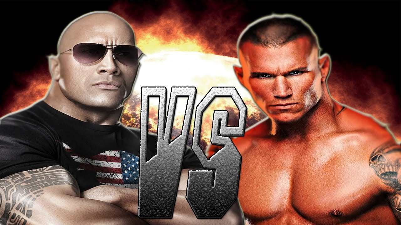 wwe12 the rock vs randy orton youtube