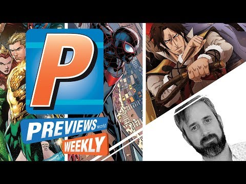 PREVIEWSworld Weekly 12/19/18: Into The Spider-Verse With You!