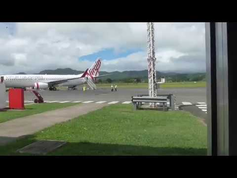 The Small but Adequate Port Vila International Airport, Vanuatu