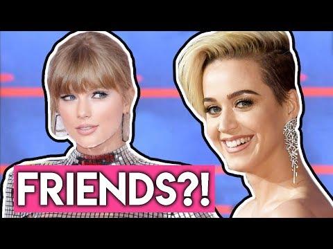 Katy Perry Praises Taylor Swift & TS7 HIDDEN CLUES