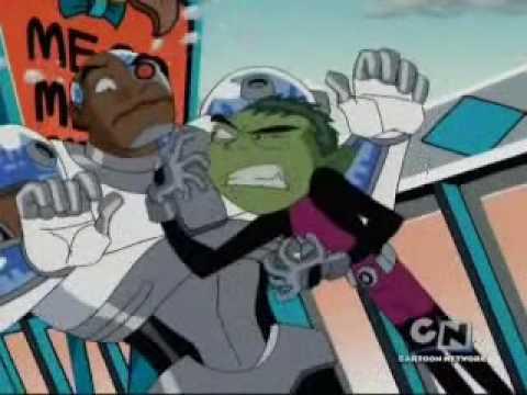 Teen Titans Beast Boys A Dinosaur Youtube