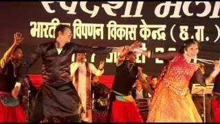 Davna Ke Paan Khoce - Chhattisgarhi Folk Song At Swadeshi Mela Raipur Chhattisgarh