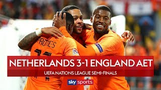 Download Video Sloppy mistakes cost England | Netherlands 3-1 England AET | Highlights | UEFA Nations League MP3 3GP MP4