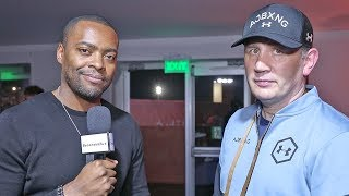 """(Joshua trainer) Rob McCracken After WIN vs Andy Ruiz 2 """"Gonna KEEP Joshua at THIS WEIGHT!"""""""