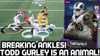 PLAYOFF TODD GURLEY BREAKS PLAYERS ANKLES! Madden 18 Ultimate Team