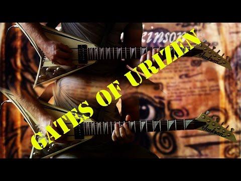 Bruce Dickinson - Gates Of Urizen FULL Guitar Cover