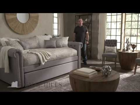 Signal Hills Knightsbridge Scroll Arm Daybed and Trundle - Overstock.com