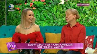 Teo Show (05.12.2018) - Sandra Izbasa, antrenoare de gimnastica si... actrita!