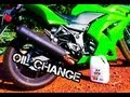 How to Change Oil And Filter Kawasaki Ninja 250