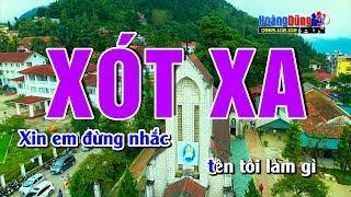 Xót Xa - Karaoke Nhạc Sống cha cha cha