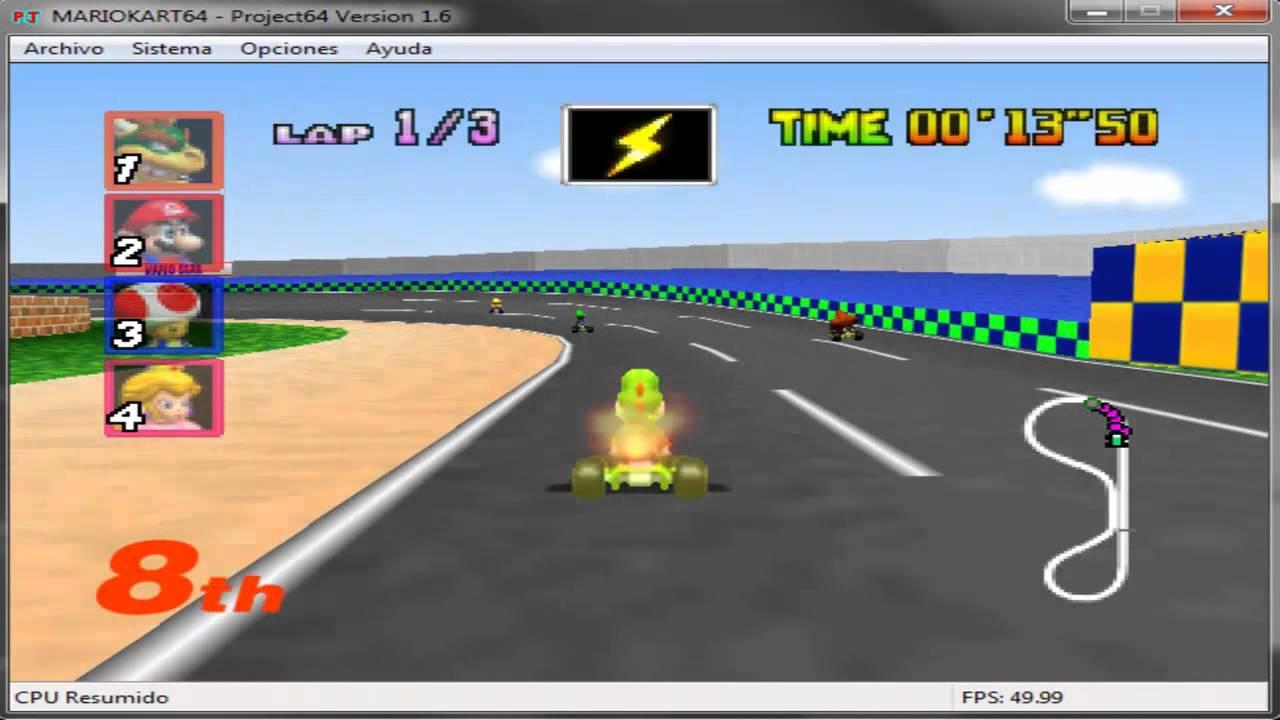 Como Descargar Juegos De Nintendo 64 Para Pc Tutorial Project 64
