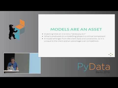 Daniel Moisset - Bridging the gap: from Data Science to service