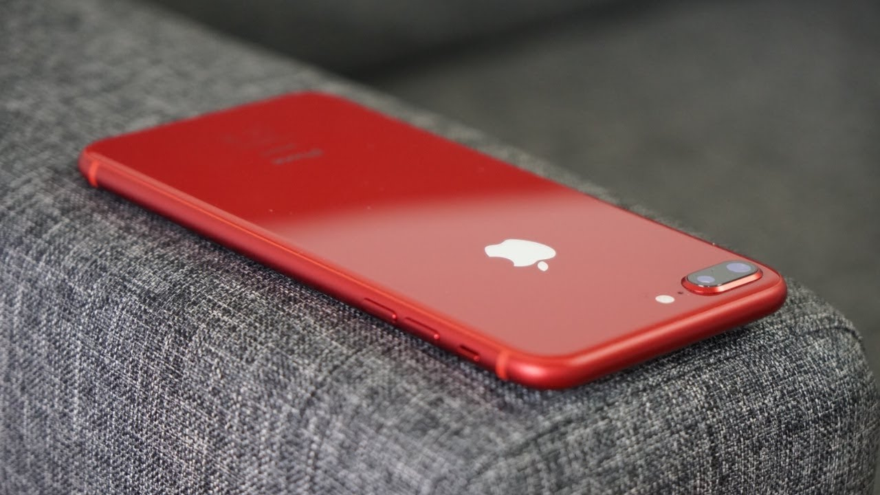 J Ai Recu L Iphone 8 Rouge Youtube