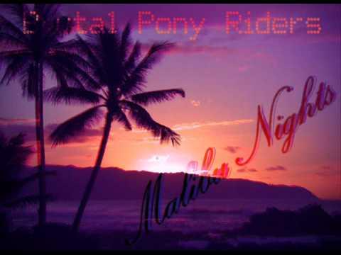 Brutal Pony Riders - Malibu Nights (electro pop 80's style)