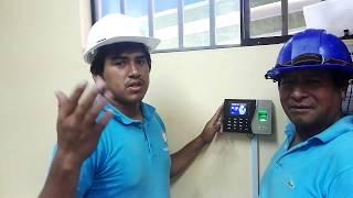 Tutorial ZK K14. Cómo instalar y configurar control  asistencia