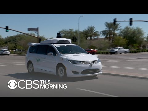 First look inside Waymo's self-driving taxis