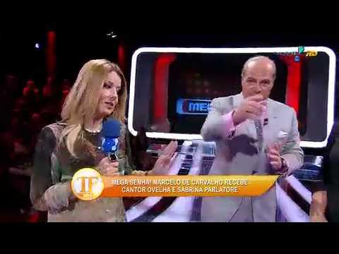 Mega Senha Recebe Ovelha E Sabrina Parlatore - TV Fama 21/03/2014