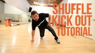 How to Breakdance | Shuffle Kick Out: Get Down | POE ONE (Style Elements)