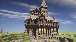 Minecraft Medieval Mansion Build