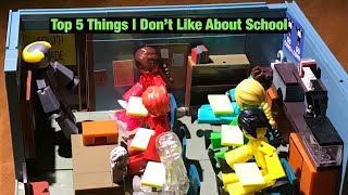 Top 5 Things I DON'T Like About School | #Stikbot