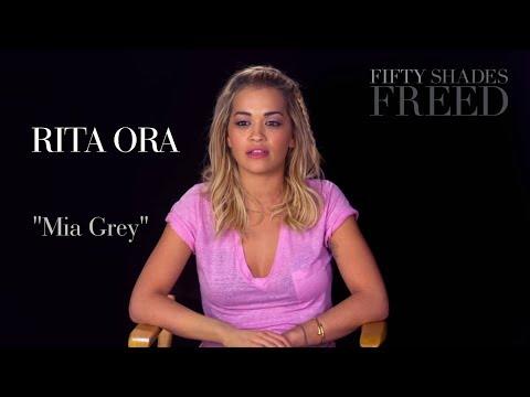 Fifty Shades Freed - Rita Ora Interview | SUBTITULOS ESPAÑOL | Mia Grey