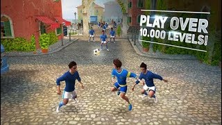 SKILLTWINS FOOTBALL GAME 2 Android / iOS Gameplay Video   First Levels and Tricks