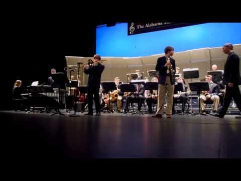 "2015 Alabama All State Jazz Gold Band ""Perdido"""