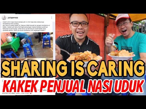 Sharing is Caring - Kisah Kakek Penjual Nasi Uduk Di Jalan Pemuda Rawamangun - Info Julia Perez thumbnail